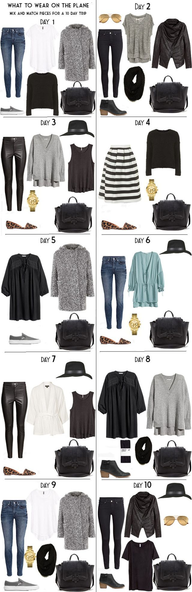Best Winter Travel Outfit Ideas On Pinterest Capsule - 10 great winter vacation ideas