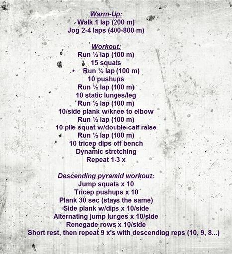 Metabolic Fire Workout from FitBetty! #fitfriday