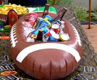 American football inflatable cooler! (Click for price)