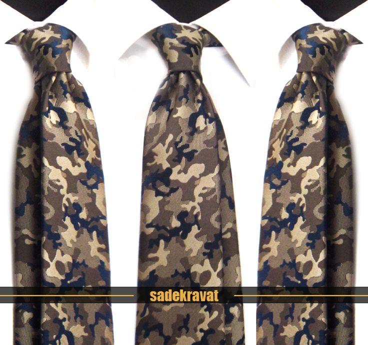 Kahve Bej Lacivert Kamuflaj Desenli Kravat 5459 8 cm. Klasik Standart Stil... http://www.sadekravat.com/kahve-bej-lacivert-kamuflaj-desen… #kravat #kravatım #kravatlar #kravatmodelleri #2015kravat #erkekaksesuar #erkekmoda #ofis #örgükravat #yünkravat #ketenkravat #incekravat #ipekkravat #slimkravat #kamujlafkravat #kravatmendilkombin #düzkravat #sadekravat #gömlek #ceket #mendil #özelmendil #kapıdaödeme #havale…