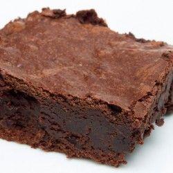 Chocolate brownie made with sweet potato
