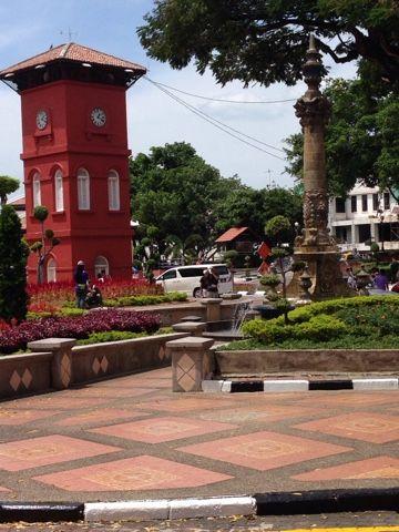 thousand miles from home: Melaka( Malacca), Malaysia