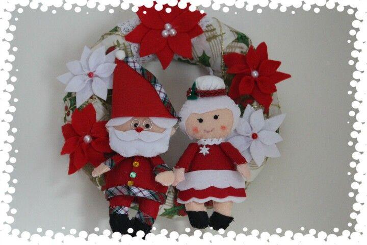 Grinalda Pai e mãe Natal
