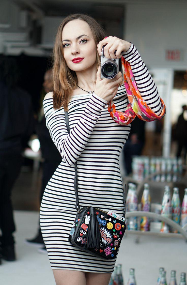 Blogger Katya Bychkova erom New York City