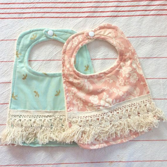 Baby Accessories Boho Baby Bib, Girl Bib, Cute bib, boho baby accessories, baby gift, newborn bib, infant bib