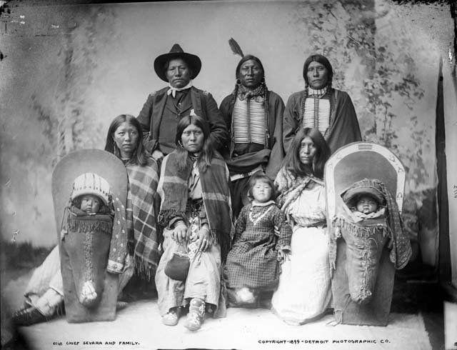 SEWARA AND FAMILY , 1899