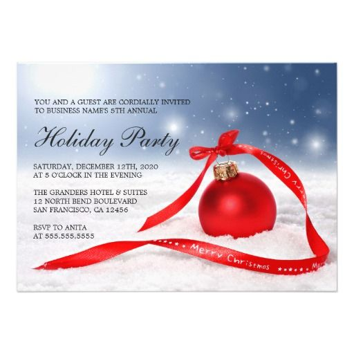 Best Corporate Holiday Party Invitations Images On Pinterest - Party invitation template: company holiday party invitation template
