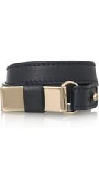 CHLOÉ  Lily leather and brass wrap bracelet  €195: Now Chloé Lily, Wrap Bracelets, Bracelet 195, Loving Leather, Lily Leather, Brass Wrap, Time Favorite, Leather Bracelets