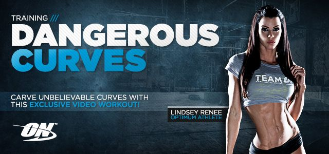 Dangerous curves workout by Lindsay Renee. Targets abdominals, glutes and legs for killer curves!