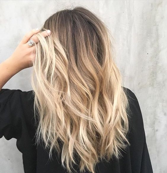 64 Haarfarbe für Brünette Balayage Brown Caramel…