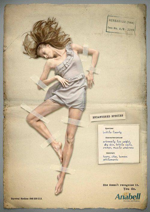 Социальная реклама об анорексии | 2social