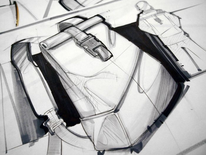 Industrial design: Sketches by Scott Tsukamaki at Coroflot.com