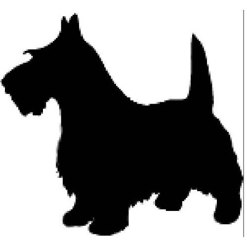 17 Best Ideas About Dog Silhouette On Pinterest