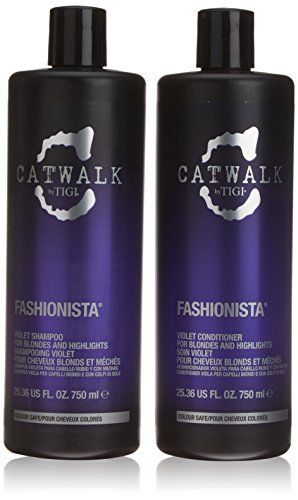 Catwalk Fashionista Blonde Shampoo and Conditioner Duo Set 2 x 750 ml by Catwalk >>> Click on the image for additional details.