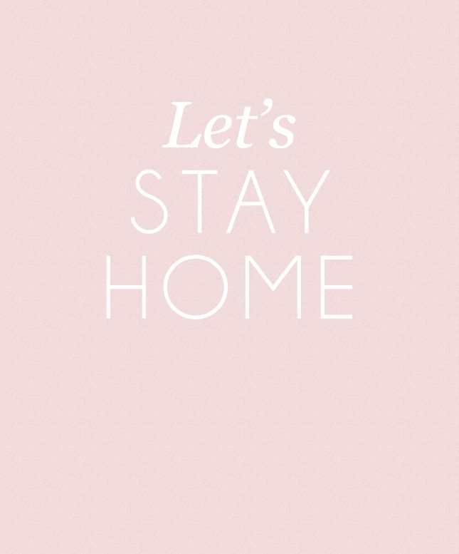 Staying Home Watching Movies, Cooking & Having Great Conversations with Family or Friends