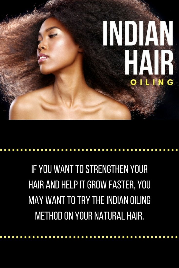 Indian hair oiling is a common practice used by Indian women both in northern and southern India the techniques vary, but ultimately have the same principle. Many India women have very long healthy black hair and contribute it to using this indian hair oiling method.