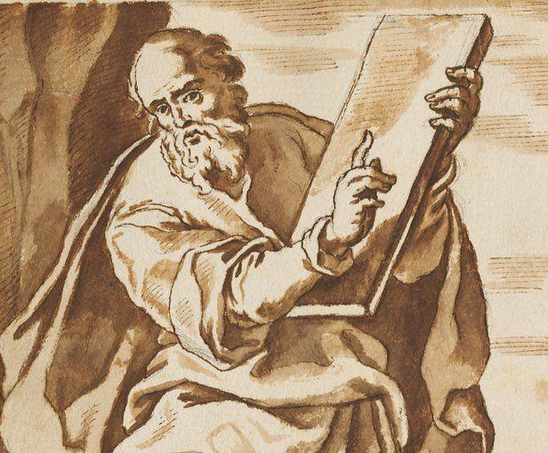 Moïse transmet les dix commandements au peuple juif en 1240 avant J. -C. Les 12 prophètes de l'ancien testament sont Jérémie, Moïse, Zacharie, Ézéchiel, Osée, Isaïe, David, Amos, Jonas, Michée, Daniel et Joël.