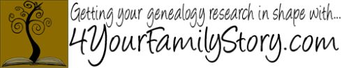4YourFamilyStory.com - Genealogy, family history, and family tree research resources, services, and consulting. Publishes a daily list of links. #gentipjar #genealogy #blogs