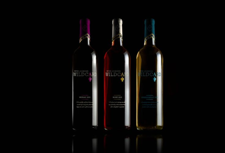 Wildcard. Red Wine. Rose Wine. White Wine. Brand mark. Logo. Packaging. Designed by White is Black.