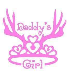 Baby Room Wall Decor M2M Pink Camo Realtree Baby Nursery -Princess Daddy's Girl