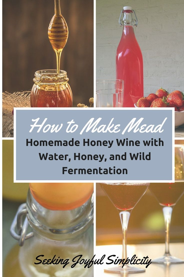Mead, or honey wine, is an alcoholic beverage made using honey, water, and fermentation. Alcohol content? Yes, most definitely. What better act of radical homemaking than to make our own alcoholic beverage using only water, honey, and the wild yeasts around us? As the popularity of homemade honey wine increases, there are many supplies and fermentation kits available. But learning how to make mead is not complicated and you can enjoy homemade honey wine