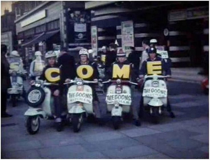 Rare 1950's footage of Lambretta wedding uncovered at Wimbledon car boot sale