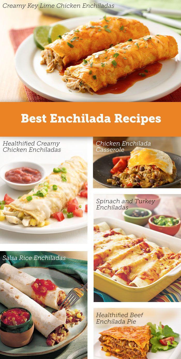 7 enchilada recipes under 300 calories!