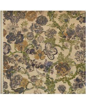 Golden Jeffery Rose Tree Vintage Velvet