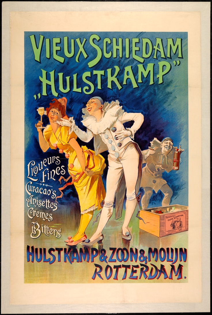 "Publicity ""Hulstkamp"" (Commercial & advertising posters Netherlands) #Booktower"
