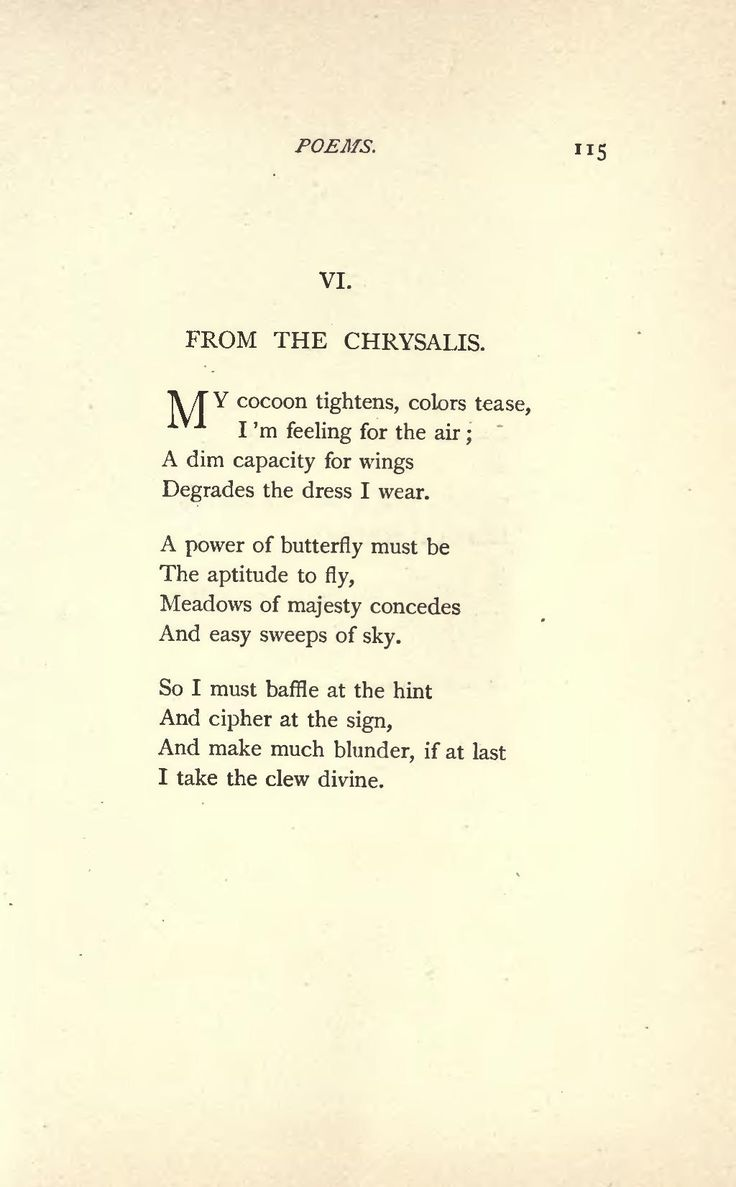 Famous Poems by Emily Dickinson | Page:Emily Dickinson Poems (1890).djvu/123