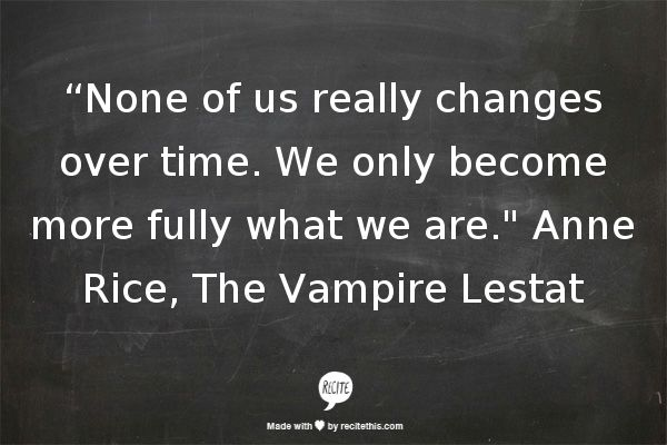 The Vampire Lestat Quotes. QuotesGram