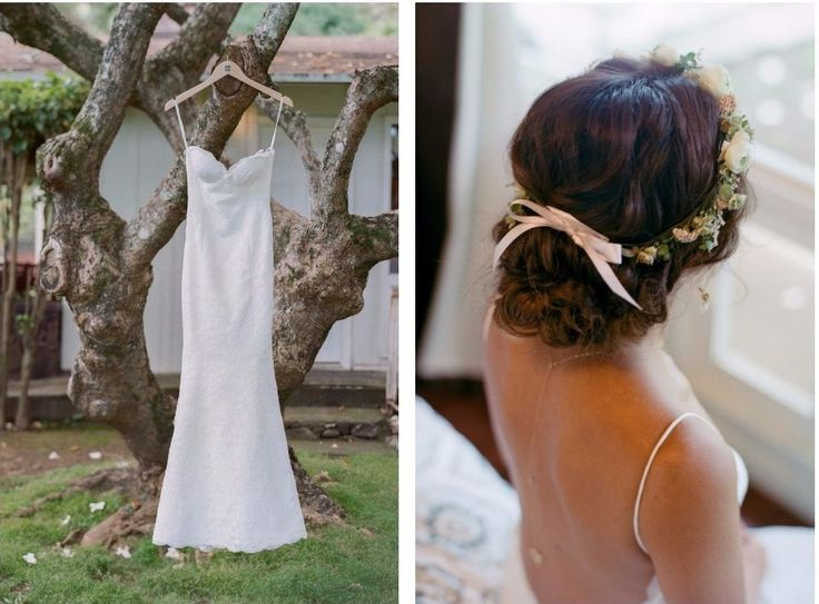 Photography: Mami Wyckoff Photograpy  #ハワイ挙式 #ヘアスタイル #ハワイウェディング #花冠
