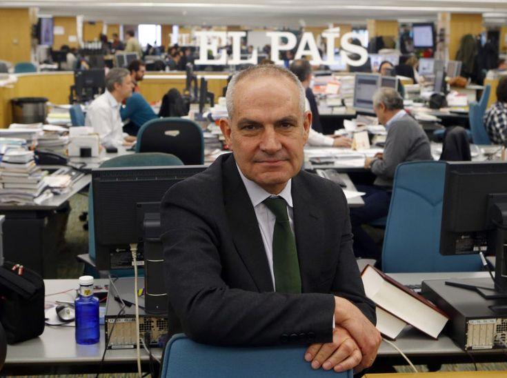 Antonio Caño, en la redacción de EL PAÍS.
