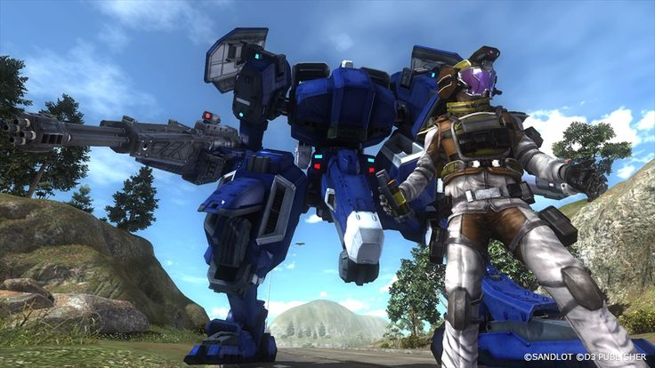 PS4 Exclusive Earth Defense Force 5 Gets Lots of New Screenshots: Air Raiders and Vehicles