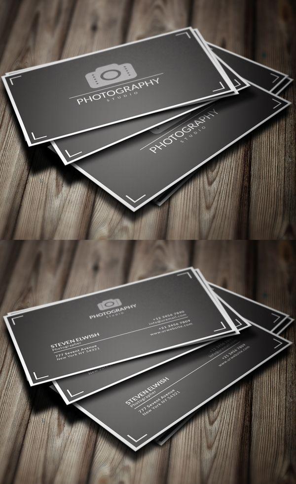 Fotografía de la tarjeta de visita del diseño # 5