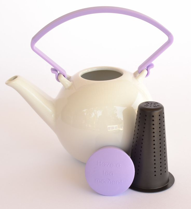 Modern Porcelain #teapot with lilac features for sale on website