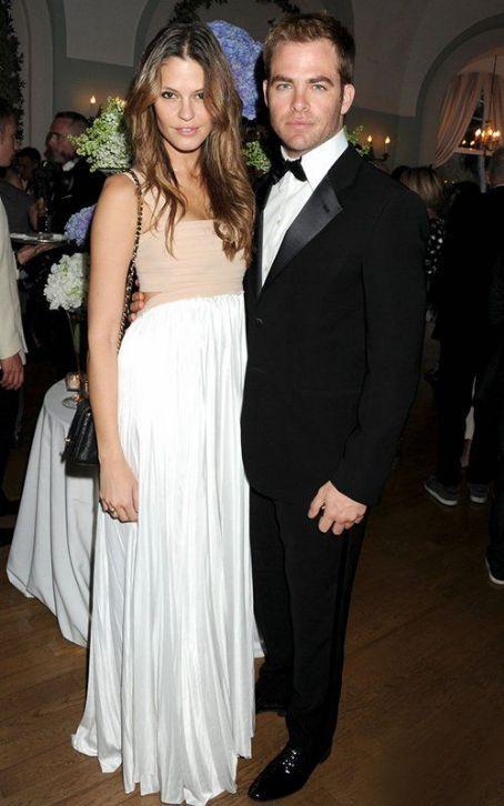 American actor, Chris Pine with ex-girlfriend Dominique Piek