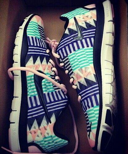 Aztec nike sneakers