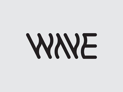wave #design #type