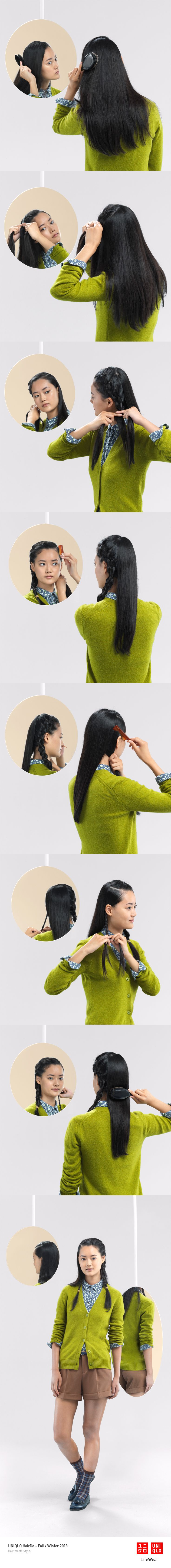 @UNIQLO 's HairDo board is just perfect! Check out all the looks and tutorials: http://www.pinterest.com/uniqlo/uniqlo-hairdo/