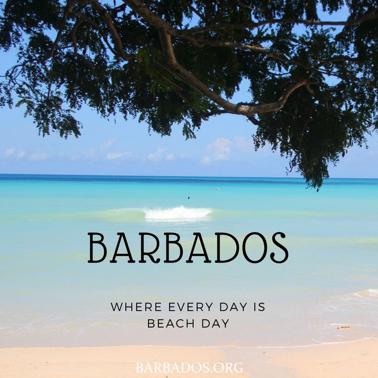 BARBADOS - where every day is beach day