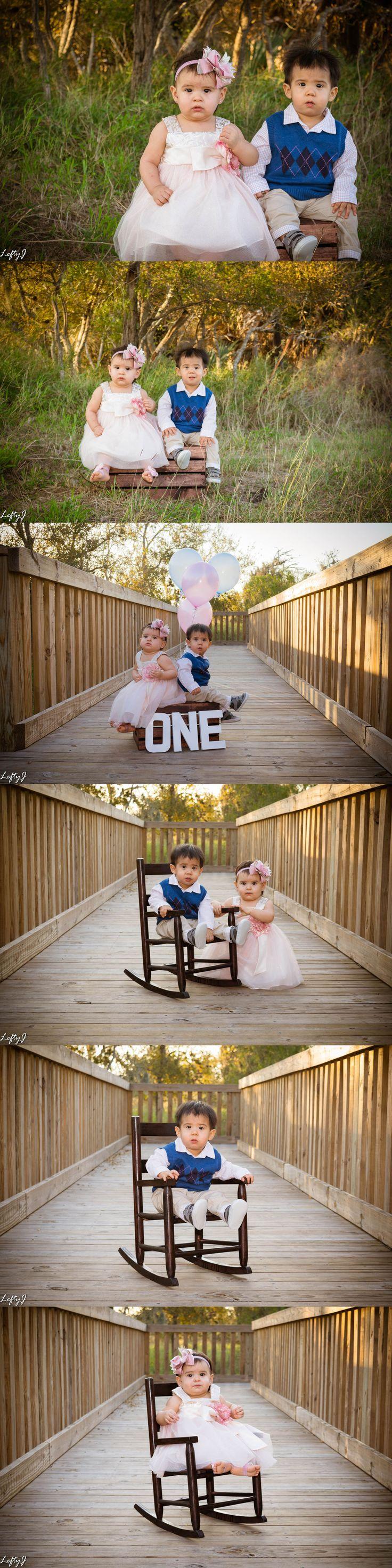 Paredez twins 1 year old photoshoot #corpuschristiphotography #corpuschristiphotographer #babyphotography #babyphotos #oneyearold #twins