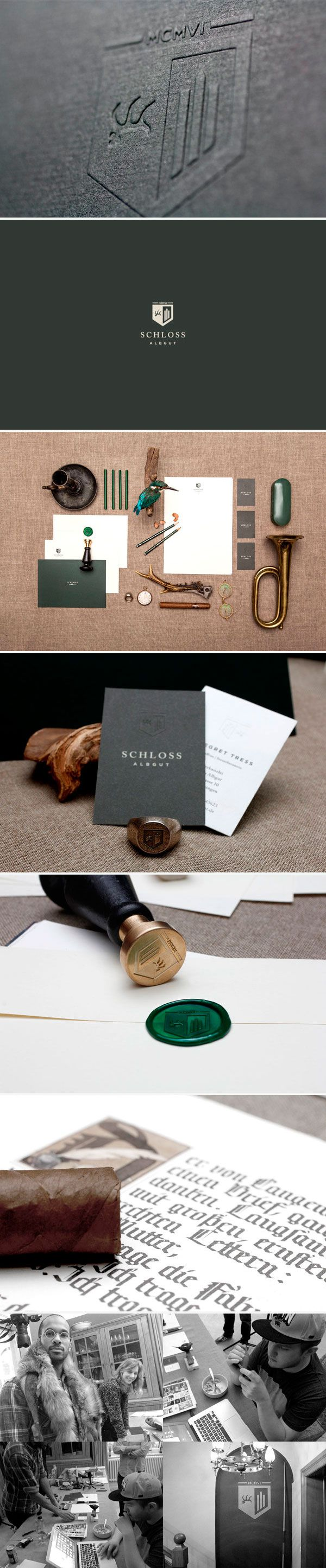 identity / schloss albgut / design firm