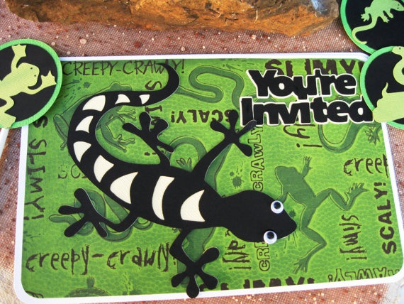 59 best Sais 6th images – Reptile Invitations Birthday