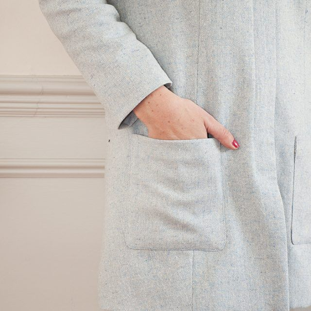 Intro to Sewing Coats: Chloe Coat online sewing class from Sew Over It   the perfect beginner's coat sewing class!