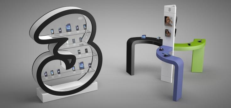 3 STORE - Store Design - H3G - Brunello Sighinolfi Architettura della Comunicazione - www.sighinolfi.com