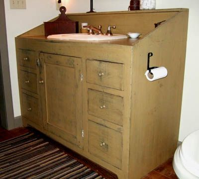 95 best primitive country bathrooms images on pinterest