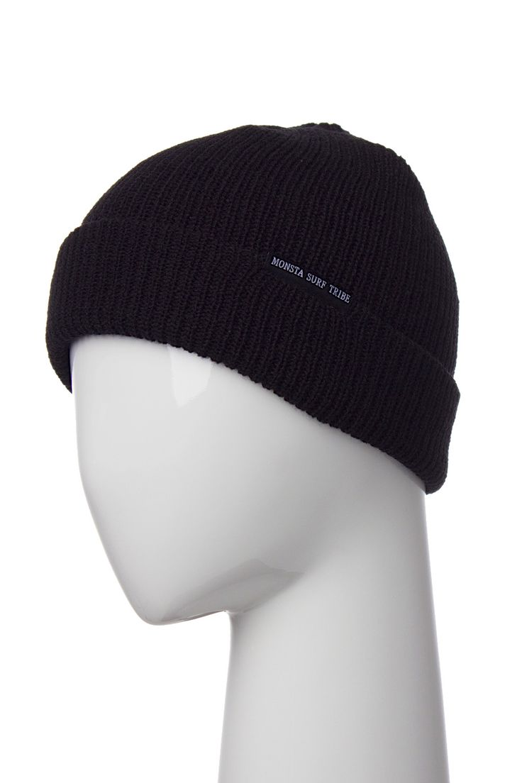 Surf Tribe Beanie Black from Monsta Surf