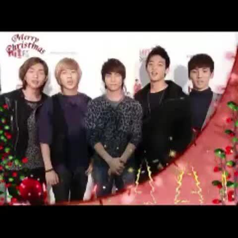 merry Christmas SHINee❤️ SHINeeちゃんのクリスマスソングを〜(*^^*)❤️ #shinee