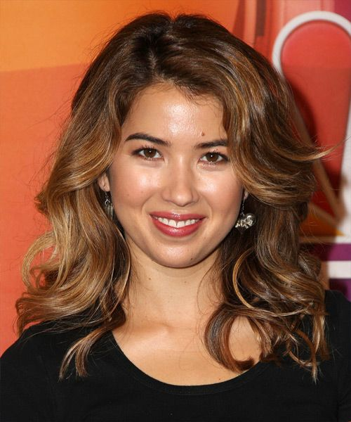 Nichole Bloom Long Wavy Hairstyle. Try on this hairstyle and view styling steps! http://www.thehairstyler.com/hairstyles/casual/long/wavy/Nichole-Bloom-big-wavy-hairstyle